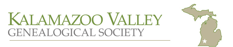 Kalamazoo Valley Genealogical Society -- Kalamazoo, MI